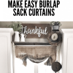 How To Make Burlap Curtains Bless This Nest