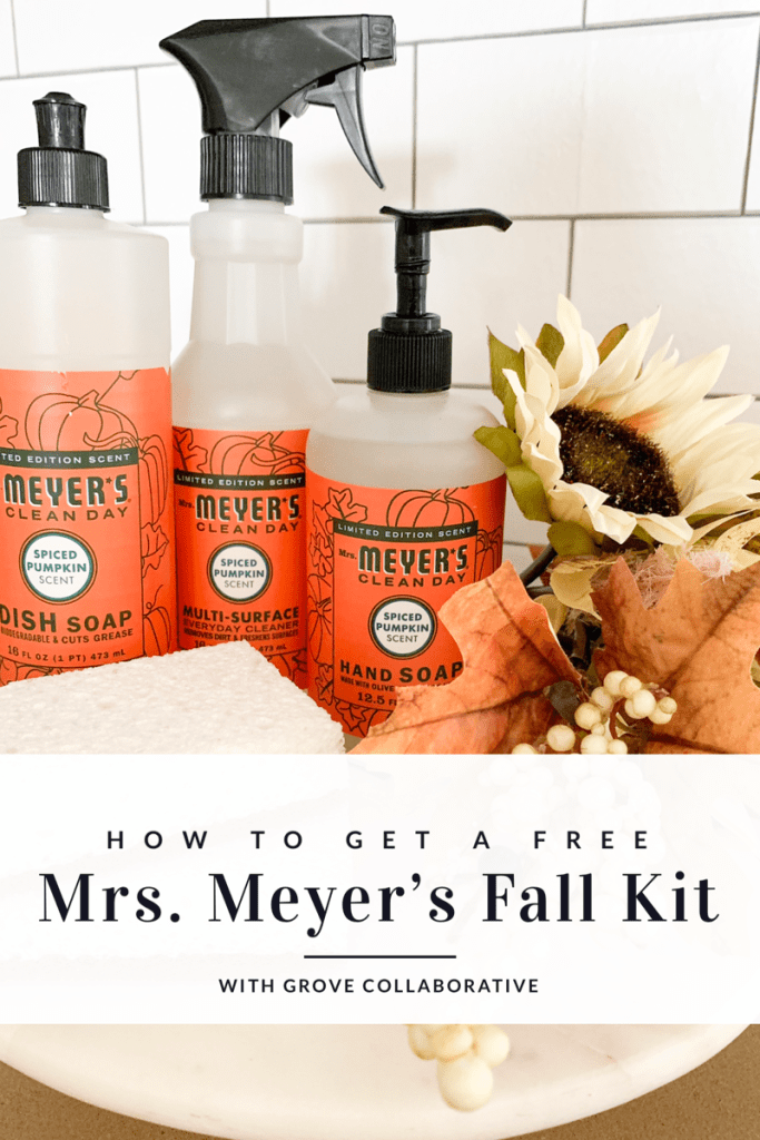fall kit with grove collaborative