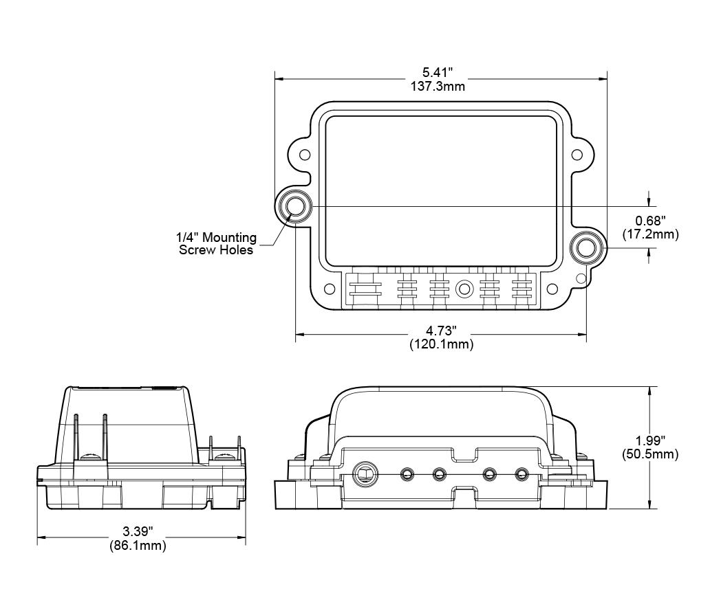 St Blade Water Resistant Fuse Block
