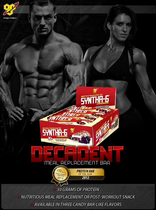 SYNTHA-6 DECADENCE - Decadent Meal Replacement Bar