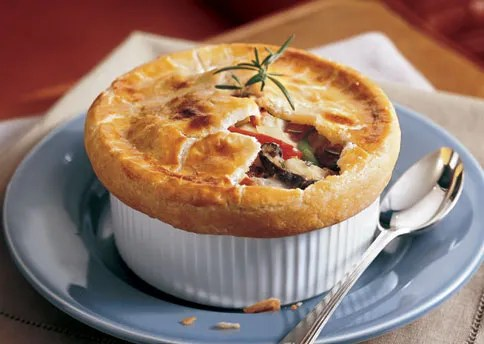 Chicken And Vegetable Pot Pies With Cream Cheese Crust Recipe Bon Appetit