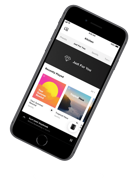 aplicación Bose Music