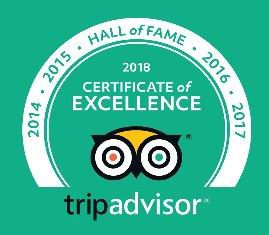 en_USUK_2018 HOF Logos Green-bkg translations en-US-UK - 2018 Certificate of Excellence - Hall of Fame file