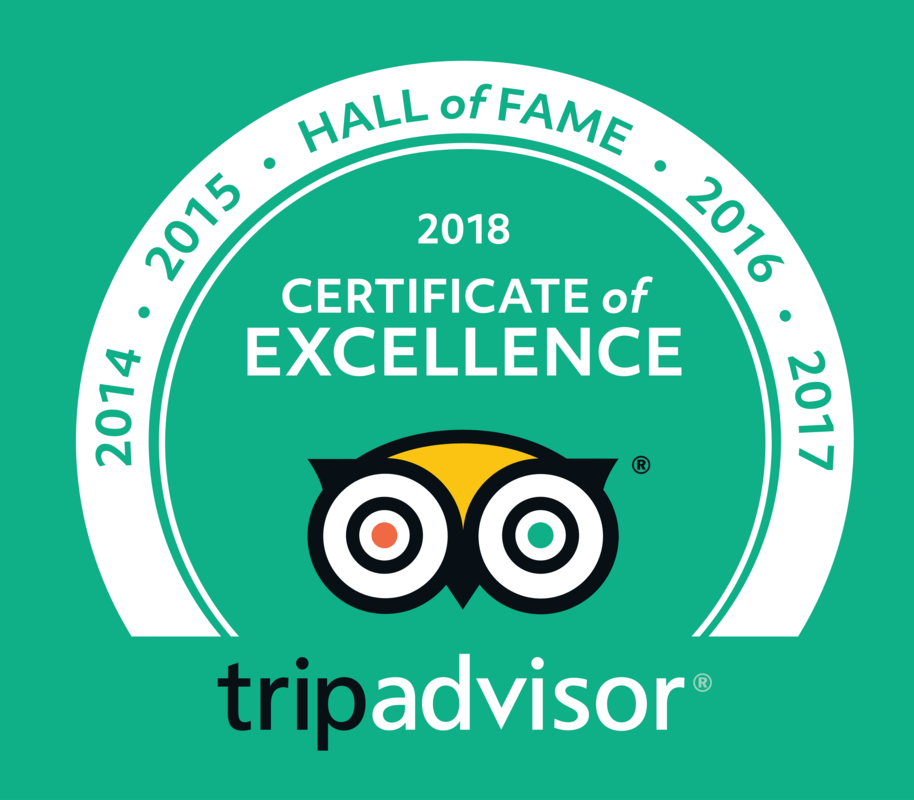 en_USUK_2018 HOF Logos Green-bkg translations en-US-UK - 2018 Certificate of Excellence - Hall of Fame file