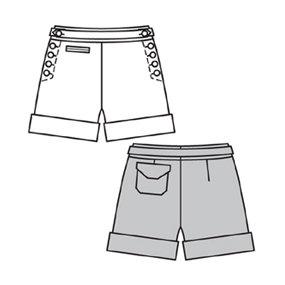 BurdaStyle 6005 Ruby Shorts