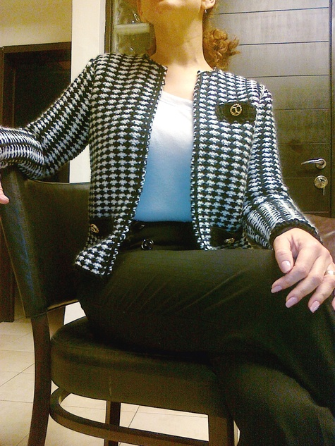 My Own Knit Chanel Jacket Sewing Projects