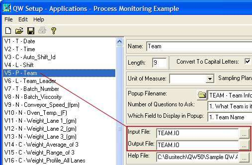 Input File Example