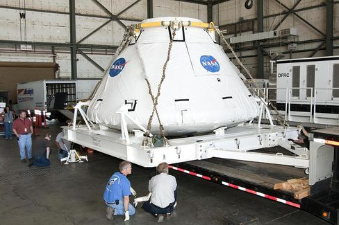 Why NASA's Orion Spacecraft Looks So Familiar - Bloomberg