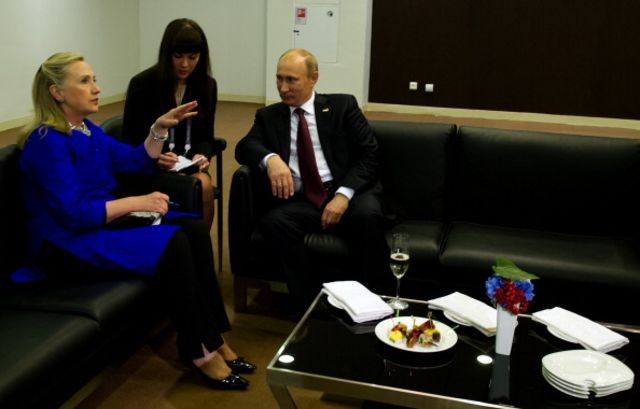 <p>By 2012, relations were frosty.</p>  Photographer: Jim Watson/AFP/Getty Images