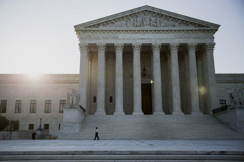 The U.S. Supreme Court stands in Washington, D.C., U.S.