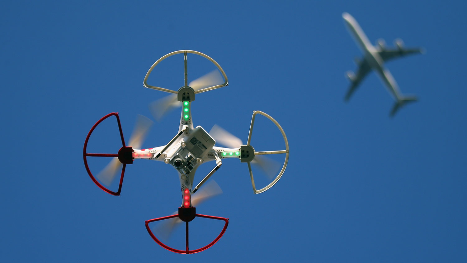 Image result for drones vs airliners