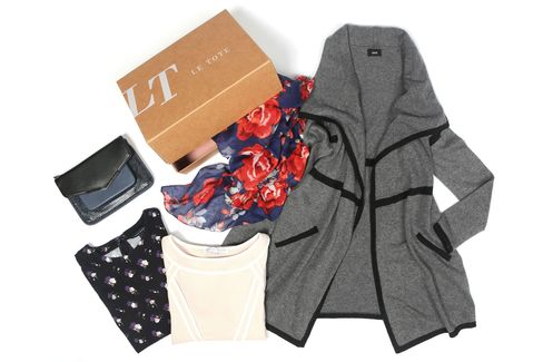 An example of a customizable package from Le Tote.