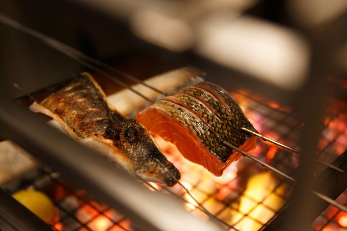 Like other Zumas, there will be a robata grill.