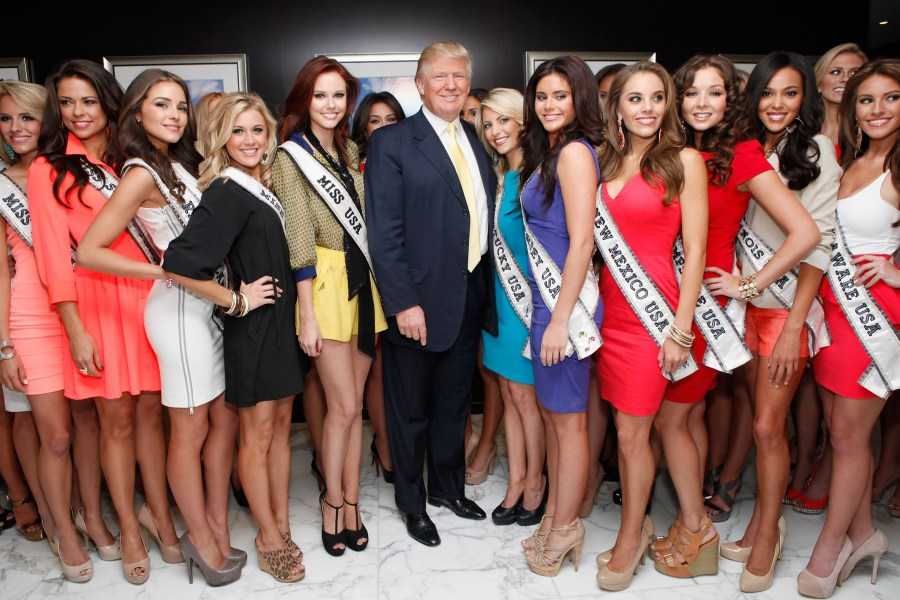 2012 Miss USA Contestants Visit Trump Tower