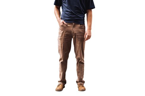 The pockets on the Mech pant are slim and nearly hidden.