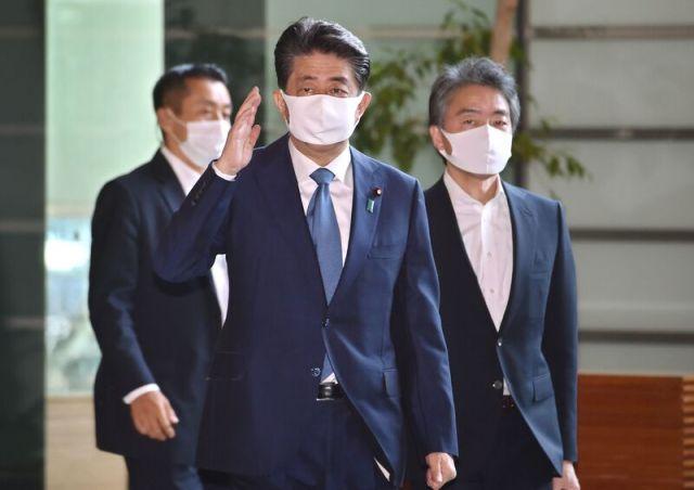 JAPAN-POLITICS-ABE-HEALTH