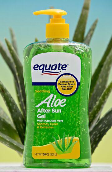 Walmart Equate brand Aloe After Sun Gel