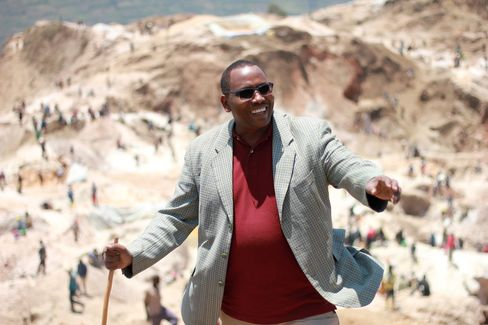 Ben Mwangachuchu, managing director of Societe Miniere de Bisunzu (SMB)