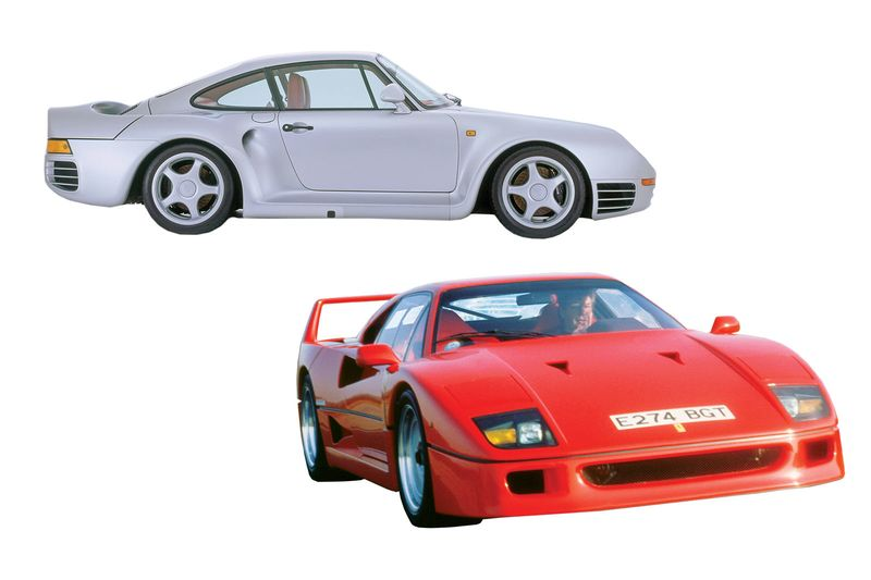 relates to A Timeline of Supercar Innovations Over the Decades