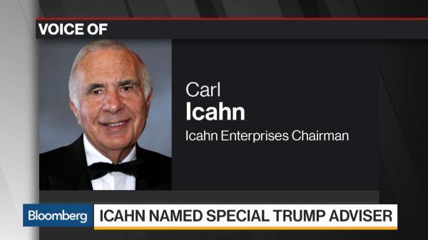 Carl Icahn Joins Trump Aiming at 'Crazy' Regulations ...