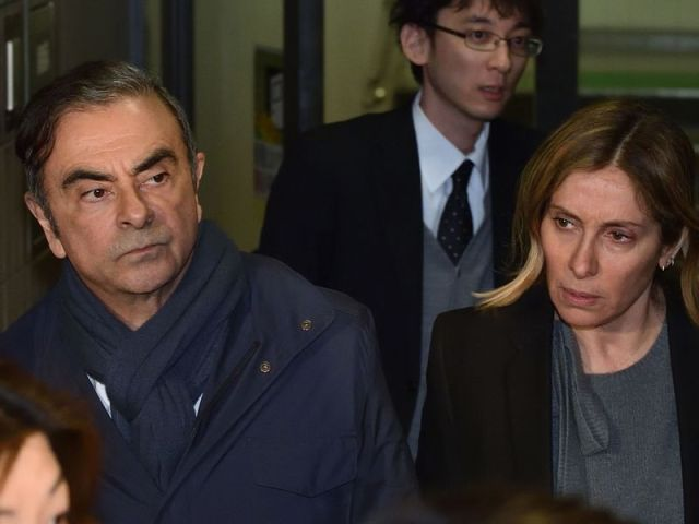 JAPAN-FRANCE-GHOSN-NISSAN-RENAULT-AUTOMOBILE