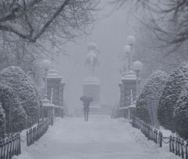 Weather Bomb Threatens Boston With Heaviest Snow Of The Season Bloomberg
