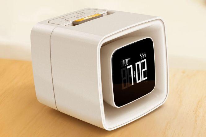 Sensorwake Alarm Clock Wakes You With