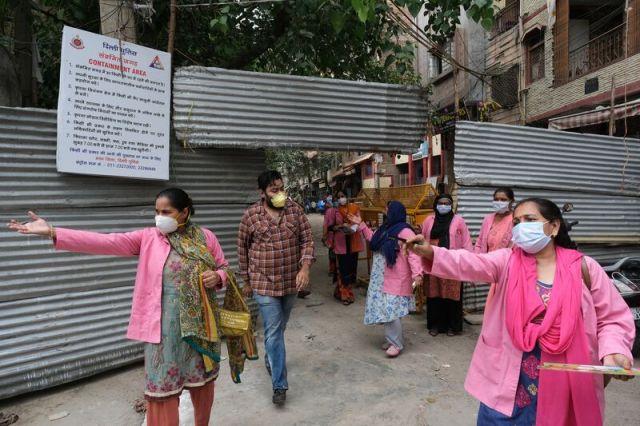 India's ASHA Workers Conduct Door-to-door Virus Survey