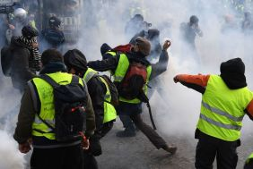 Image result for gilet jaunes riots