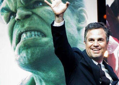 """Mark Ruffalo atiende el estreno europeo de """"The Avengers: Age Of Ultron"""" en Londres, el 21 de abril de 2015."""