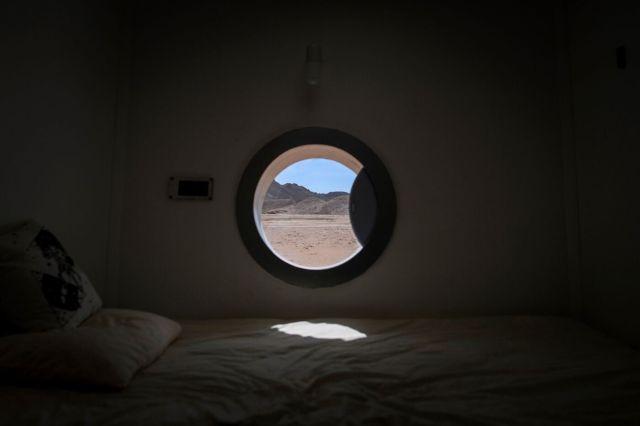 The sleeping quarters at Mars Base 1.