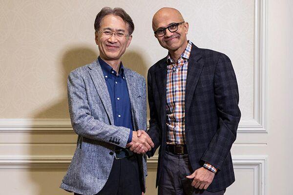 Sony e Microsof