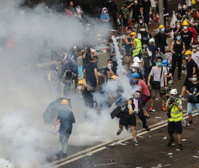 Lam Urges A Return To Order After Protests Hong Kong Update