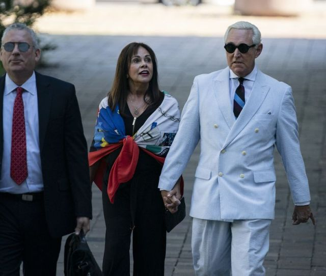 Roger Stone Wants Back On Instagram Twitter And All The Rest