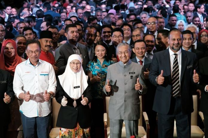 Mahathir Seeks Shared Prosperity in One-Year Anniversary Address