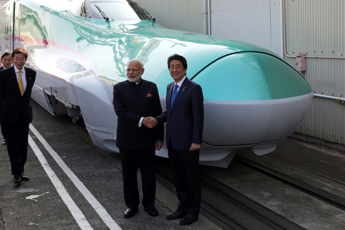 Japan Is Selling Bullet Trains To India