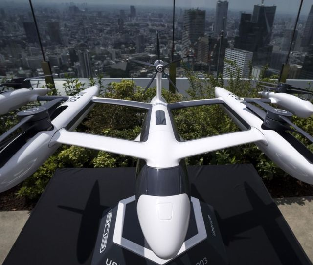A Scaled Model Of Ubers Ecrm 003 An Electric Vertical Take Off And