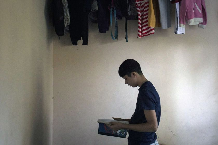 Yasmin Garcia's son, 13, stopped attending school because he was bullied by classmates for being Venezuelan.