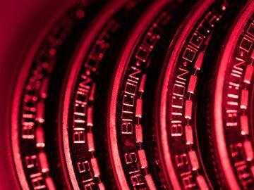 A collection of bitcoin tokens