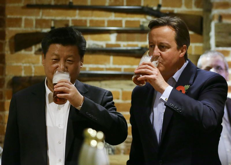 President Xi and Prime Minister Cameron