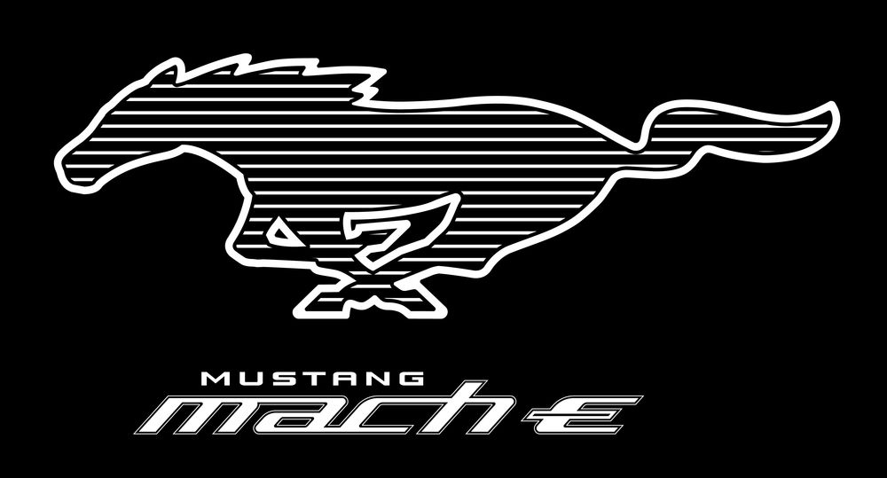 The Mustang insignia for Mach-E.