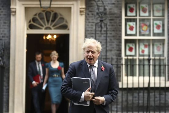 Johnson faces battle to retain Scotland while Brexit deal shows scars