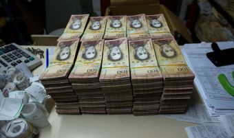 Venezuelan Currency Madness Valued Local Bank More Than Apple