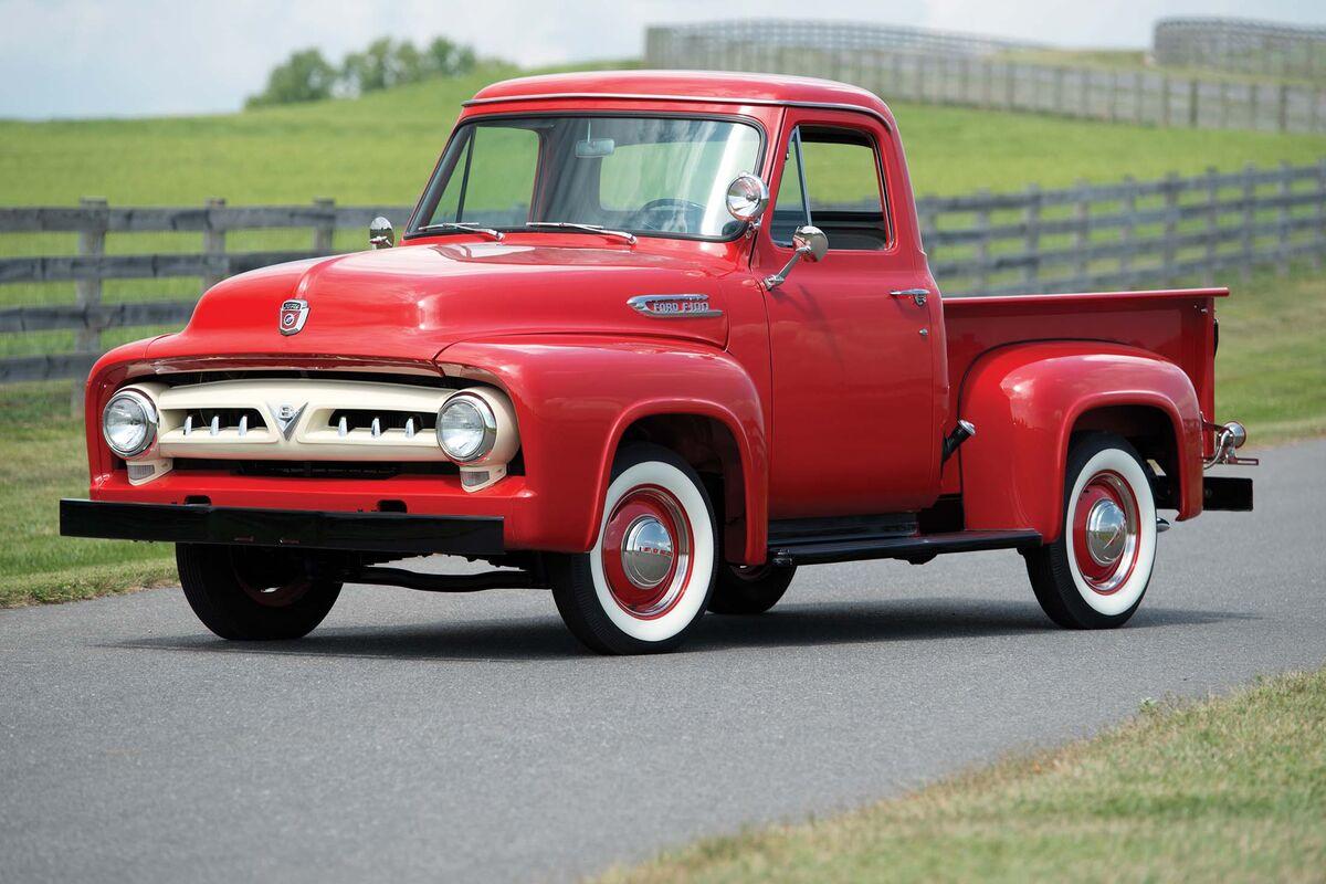 1953 Ford F100 Interior 1955