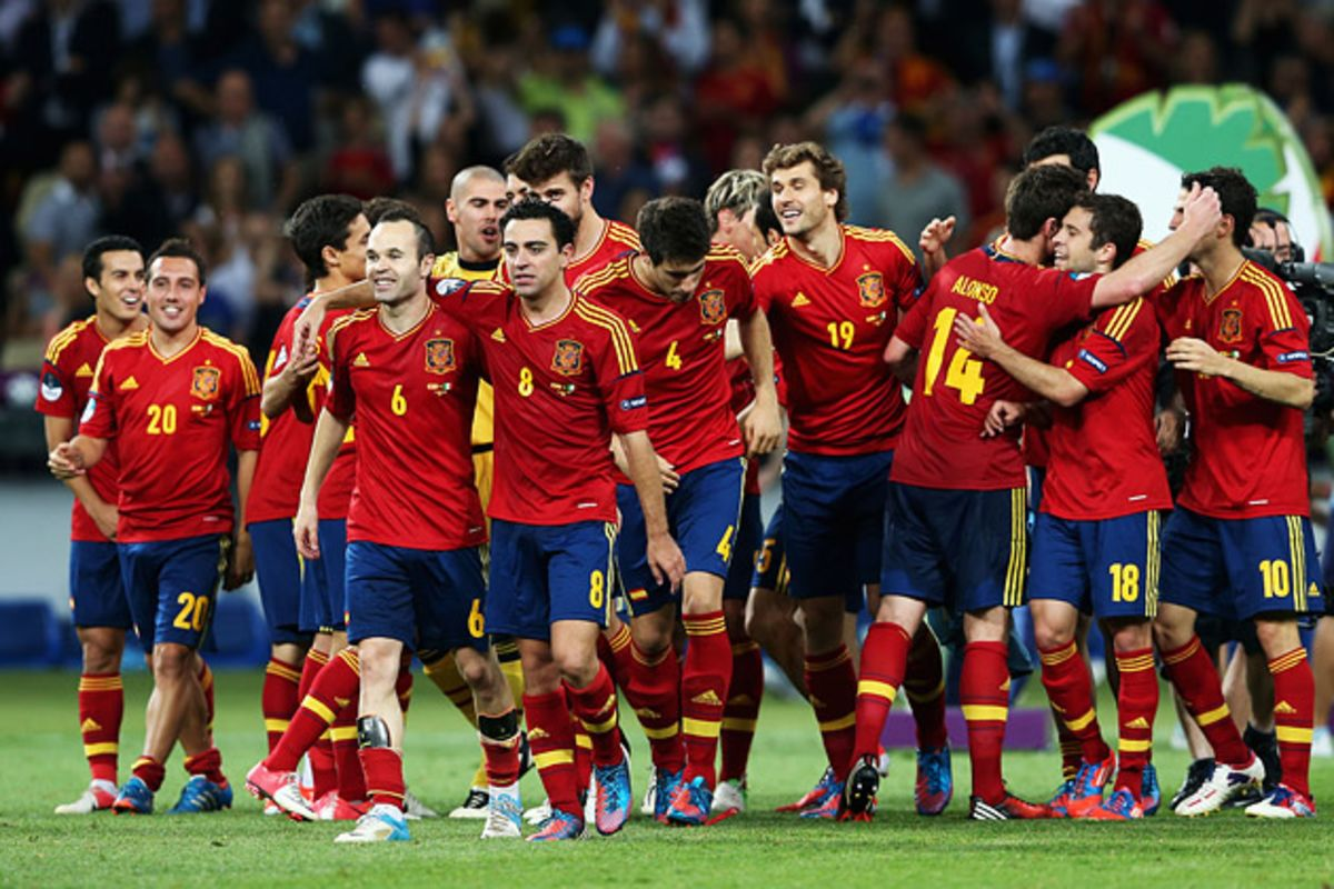 Spain S Soccer Team A Champion For The Facebook Age