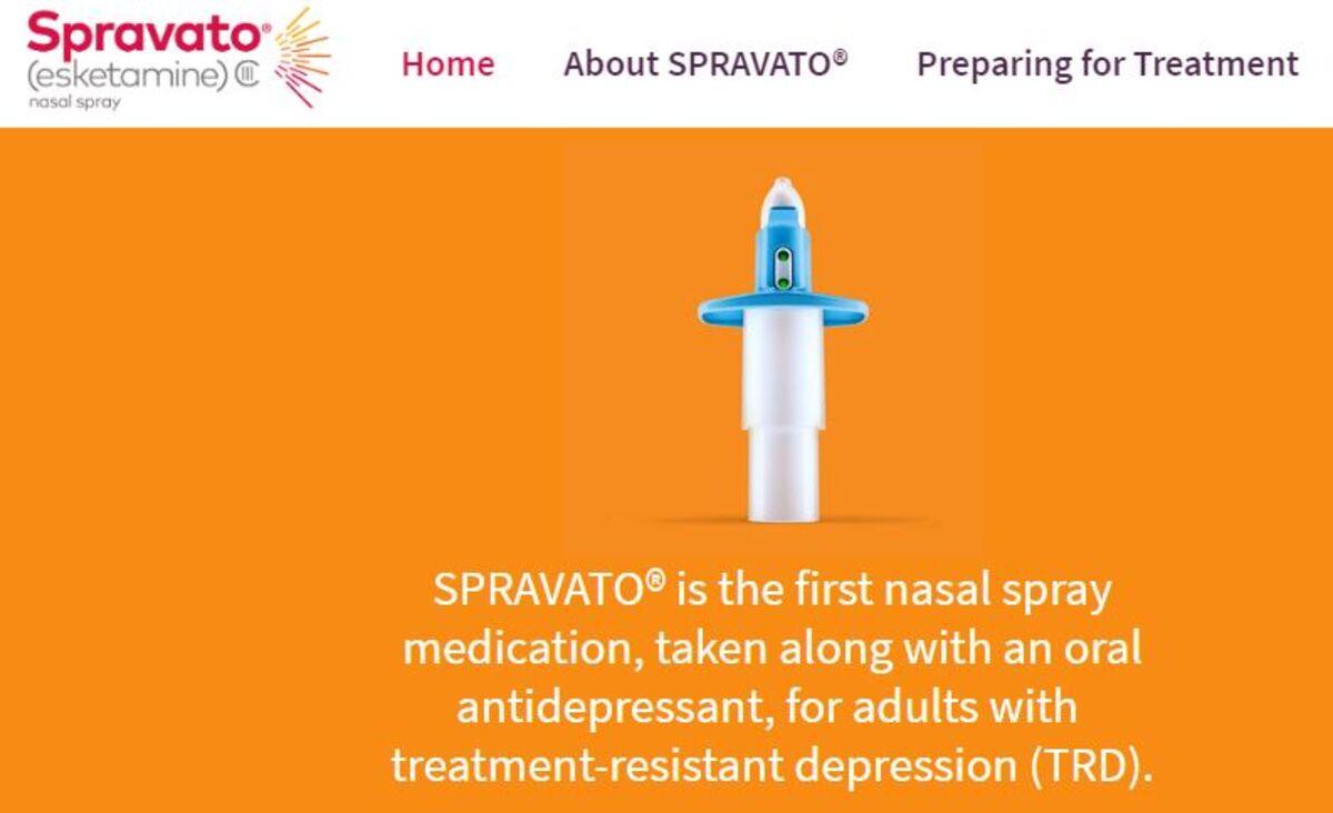 Johnson & Johnson Spravato Spray Approved for Treating Suicidal ...