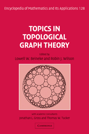 Cover of Topics in Toplogical Graph Theory