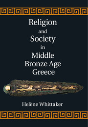 Religion and Society in Middle Bronze Age Greece