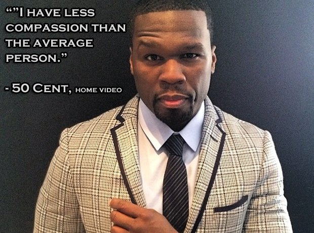 Love 50 Quotes Cent