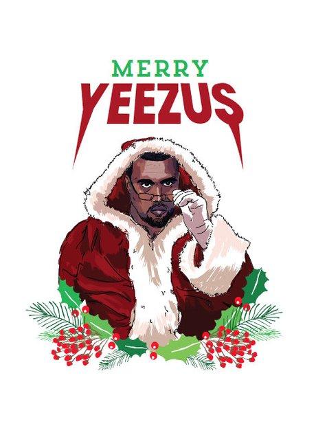 No One Says Merry Christmas Like Yeezus 23 Christmas